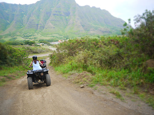 Kualoa Ranch Scenery