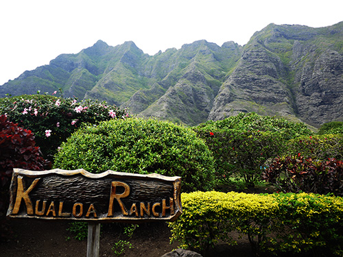 Kualoa Ranch Entrance