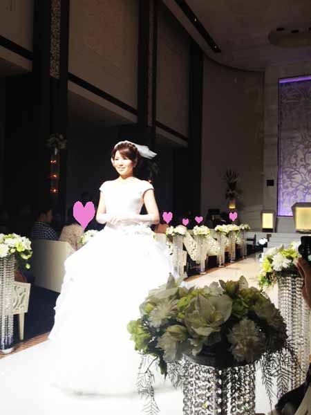 Watabe Wedding fashion show