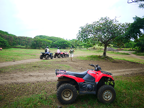 Kualoa Ranch ATVテスト走行