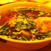 朝日グリルのオックステールスープ。