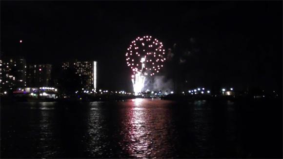 ヒルトン・ハワイアン・ビレッジの花火