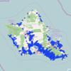 Honolulu 2015 Accident Map