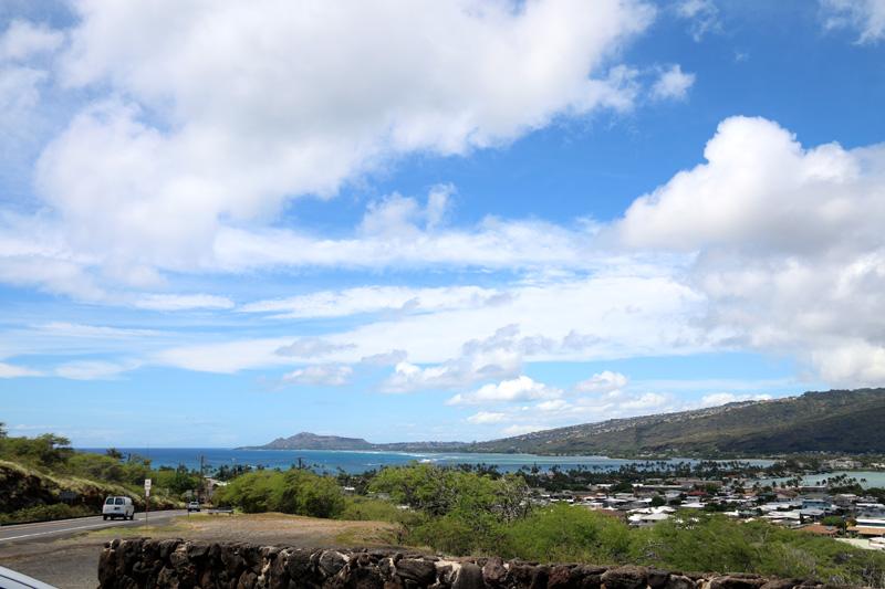 ハワイ・カイを一望